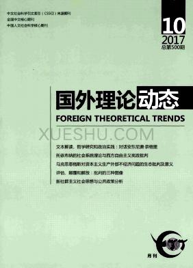 国外理论动态杂志