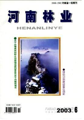 河南林业杂志